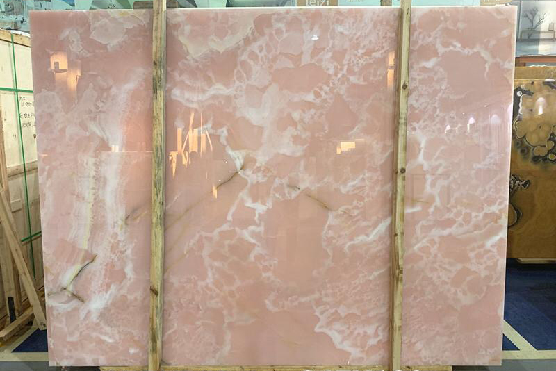 Pink Onyx Slab Top Quality Onyx Slabs