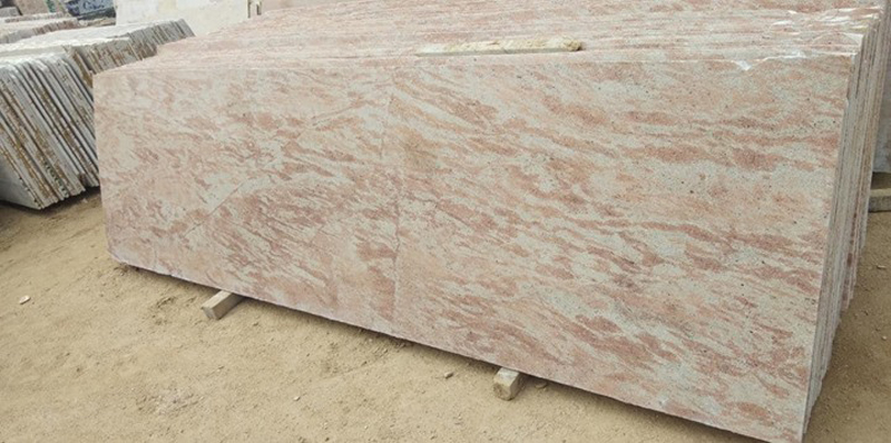 Pink Polished Granite Slabs Sathur Granite Slabs