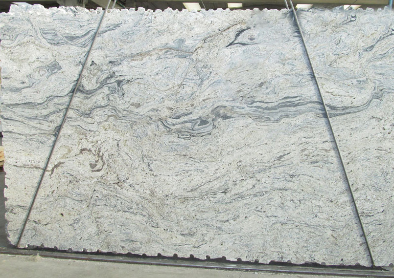 Piracema White Granite Slabs with Top Quality