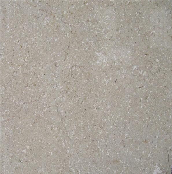 Plain Beige Marble