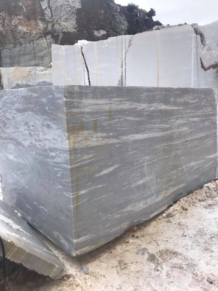 Platinum Grey Natural Marble Blocks