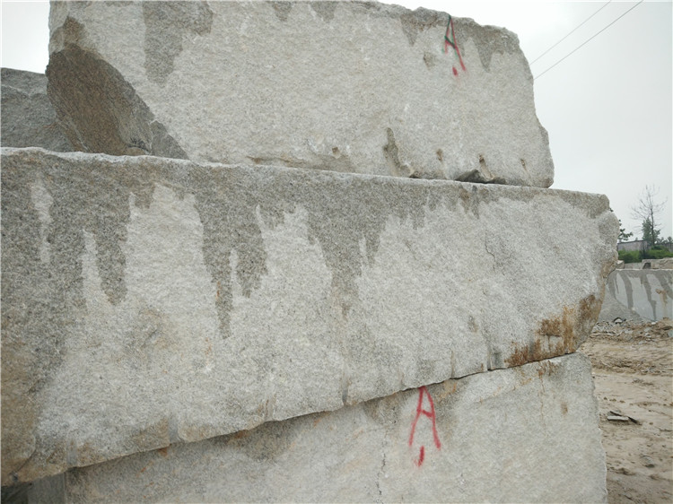 Platinum Sand White Granite Blocks Natural Stone Blocks