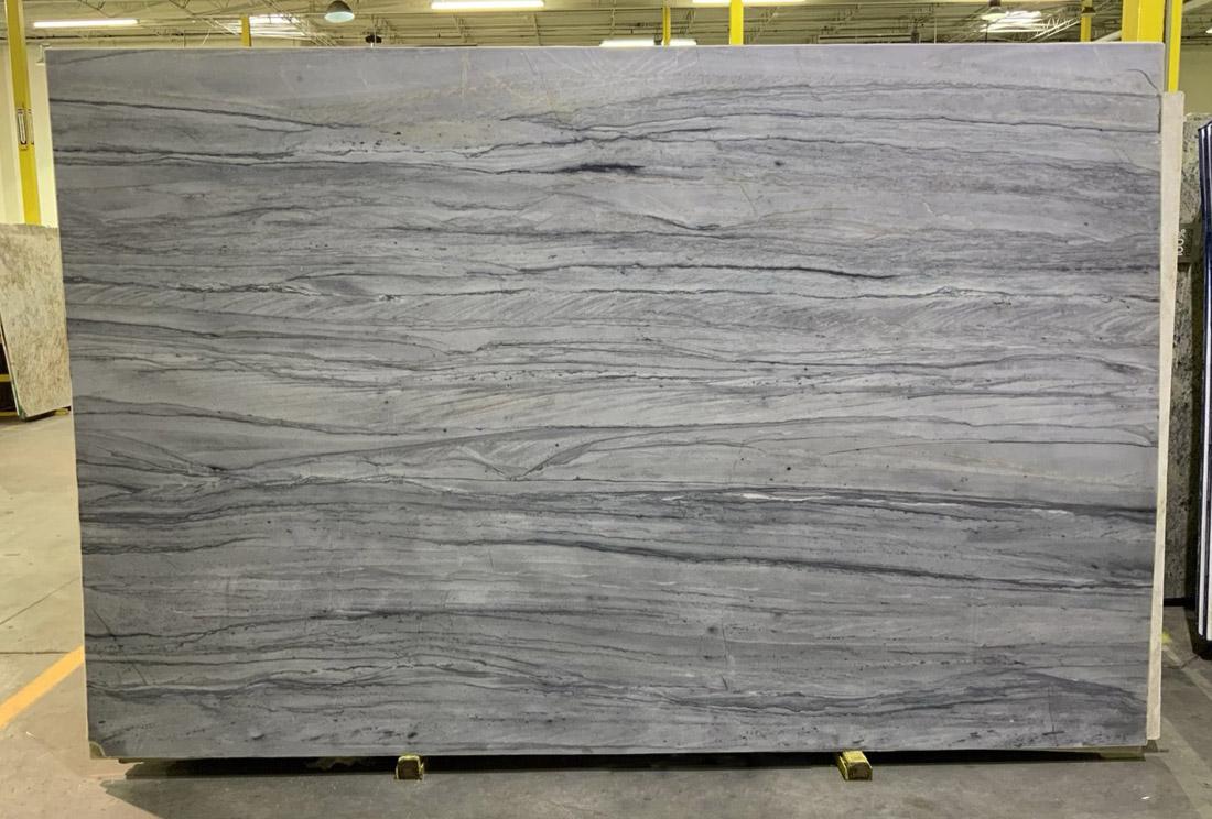 Platinum Velvet Quartzite Slabs Honed Grey Quartzite Slabs