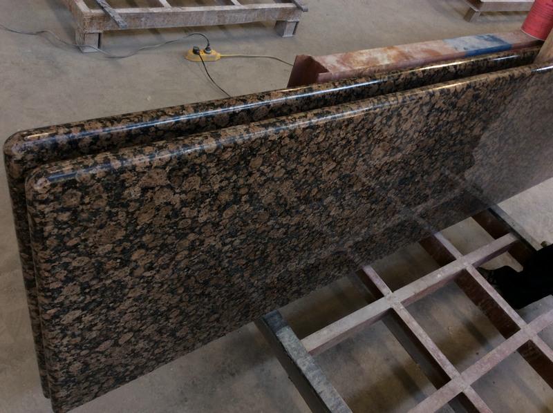 Polished Baltic Brown Granite Countertop