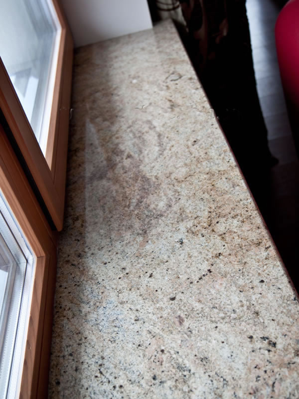 Polished Beige Granite Stone Windowsill