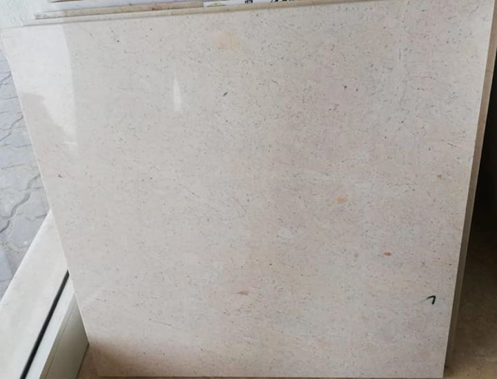 Polished Beige Marble Tiles Omani Marble Tiles