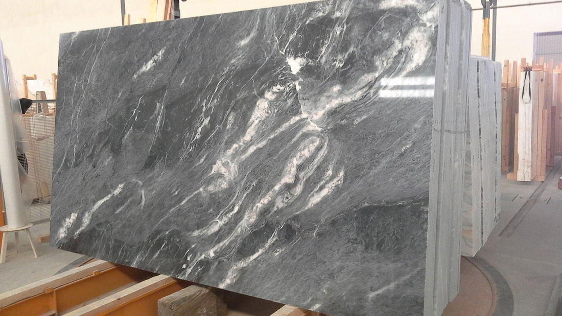 Polished Blue Marble Slabs Portugal Blue Lagoon Marble Slabs