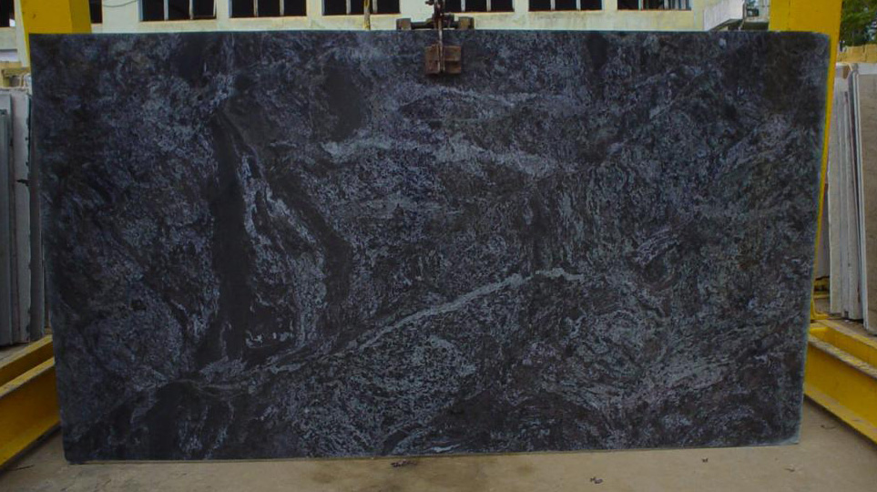 Polished Bros Blue Granite Slab with Top Quality