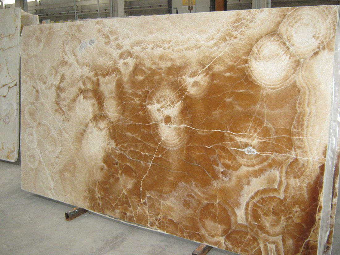 Polished Brown Onyx from Turkish Supplier