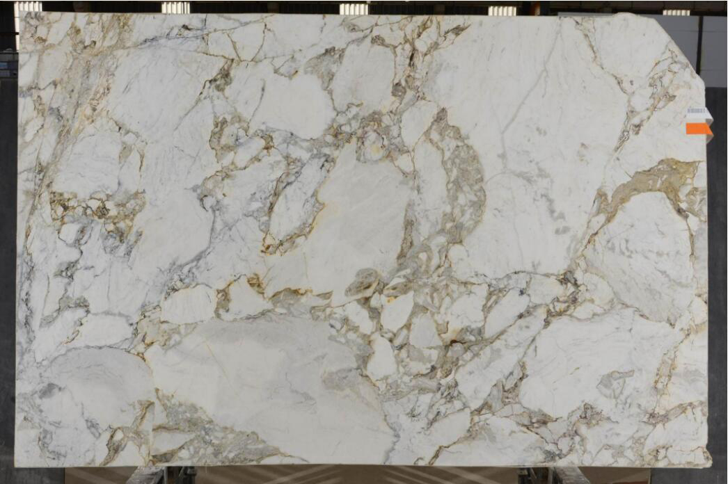Polished Calacatta Michelangelo Marble Slabs White Marble Slabs