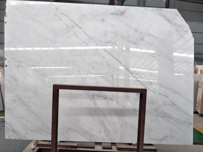 Polished Chinese White Slabs Oriental White Marble Slabs