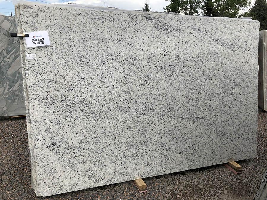 Polished Dallas White Big Granite Slabs