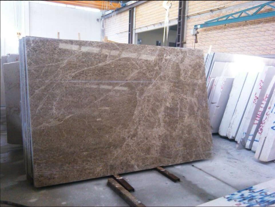 Polished Dark Emperador Marble Brown Slabs