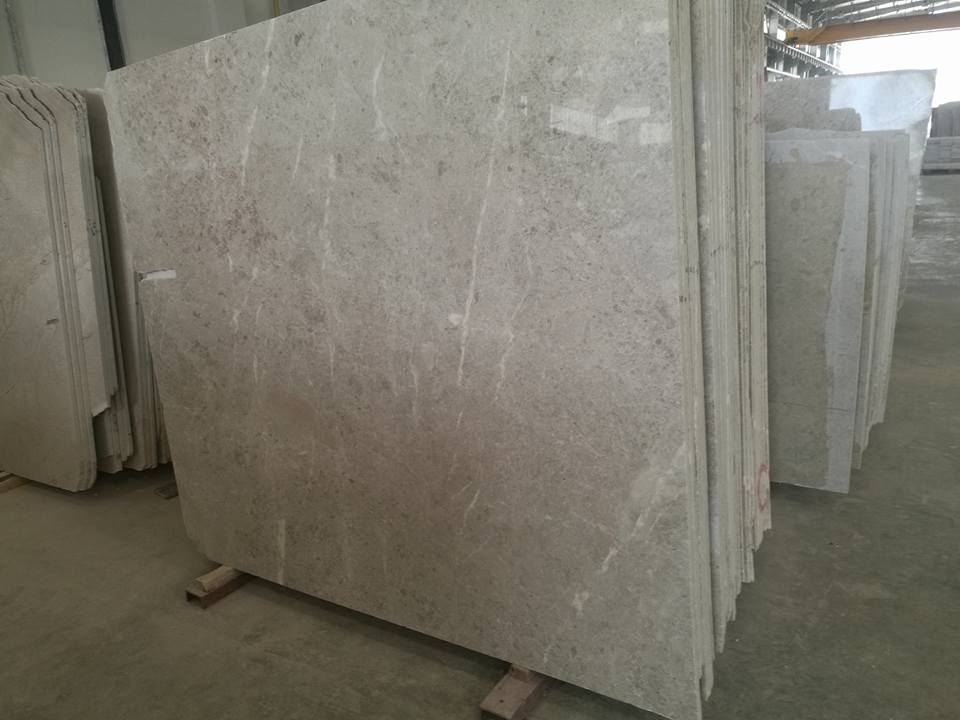 Polished Desert Beige Omani Beige Marble Slabs