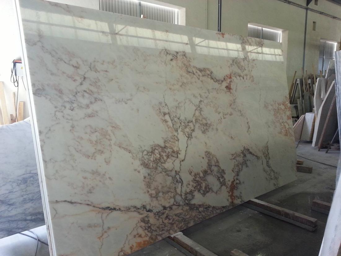 Polished Estremoz White Classic Marble Slabs