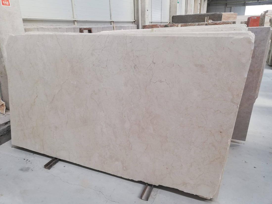 Polished Extra Quality Crema Nuova Slabs Beige Marble Slabs