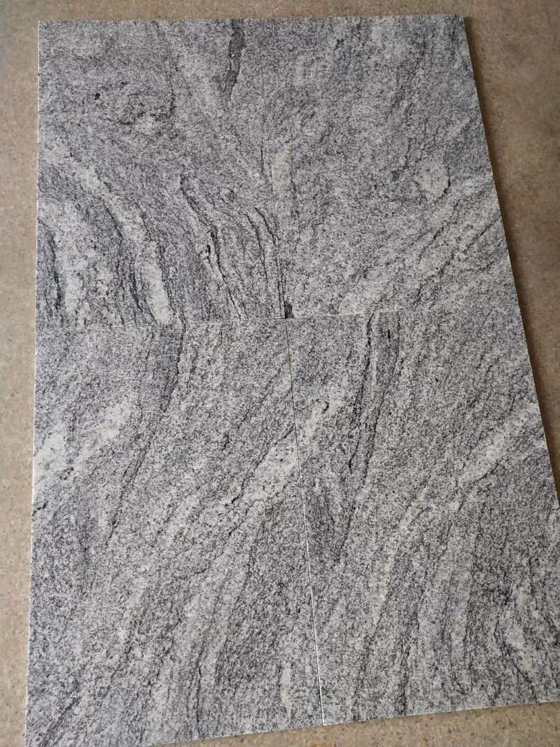 Polished Fantacy Grey Granite Tiles