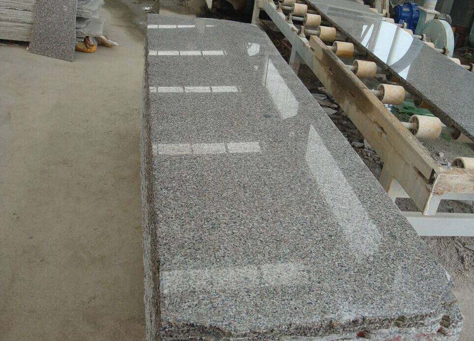 Polished Flotus Grey Granite Slabs from Chinese Supplier