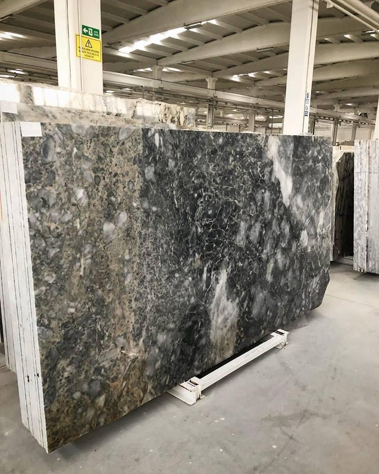 Polished Forest Grey Slab Grey Marble Slabs