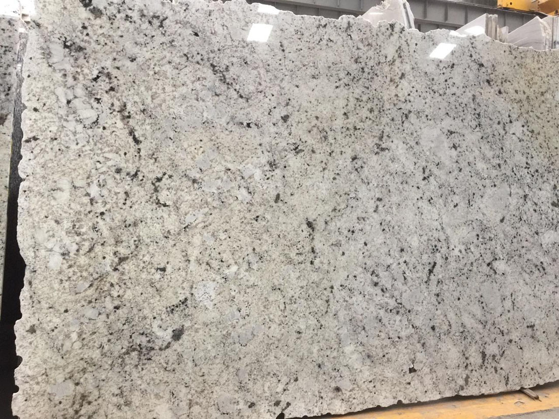 Polished Galaxy White Granite Slabs