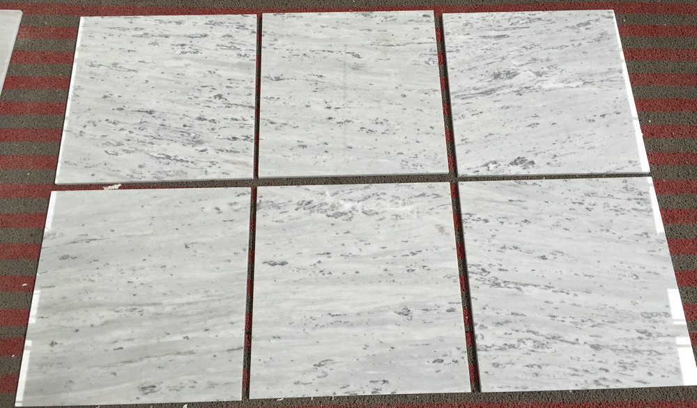 Polished Galaxy White Marble Tiles for Flooring