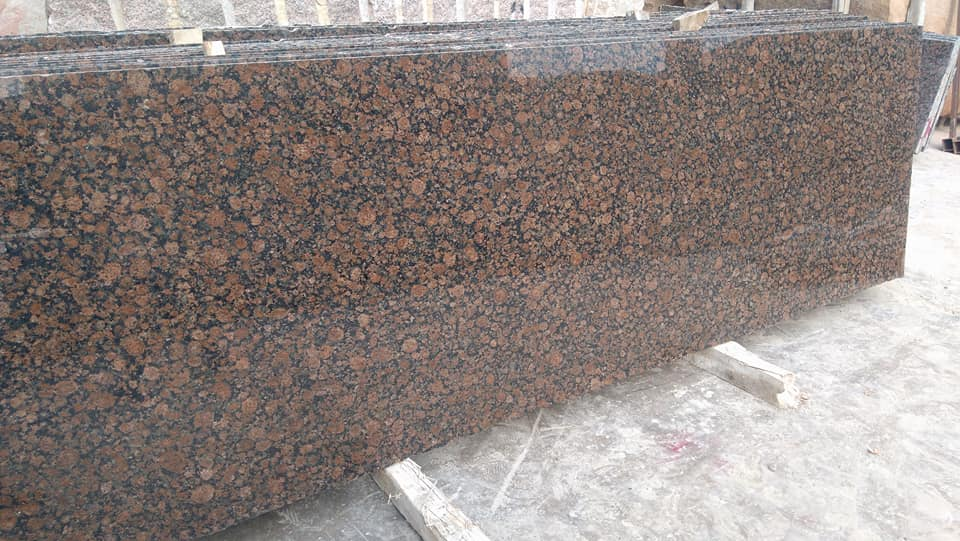 Polished Granite Slabs Baltic Brown Slabs