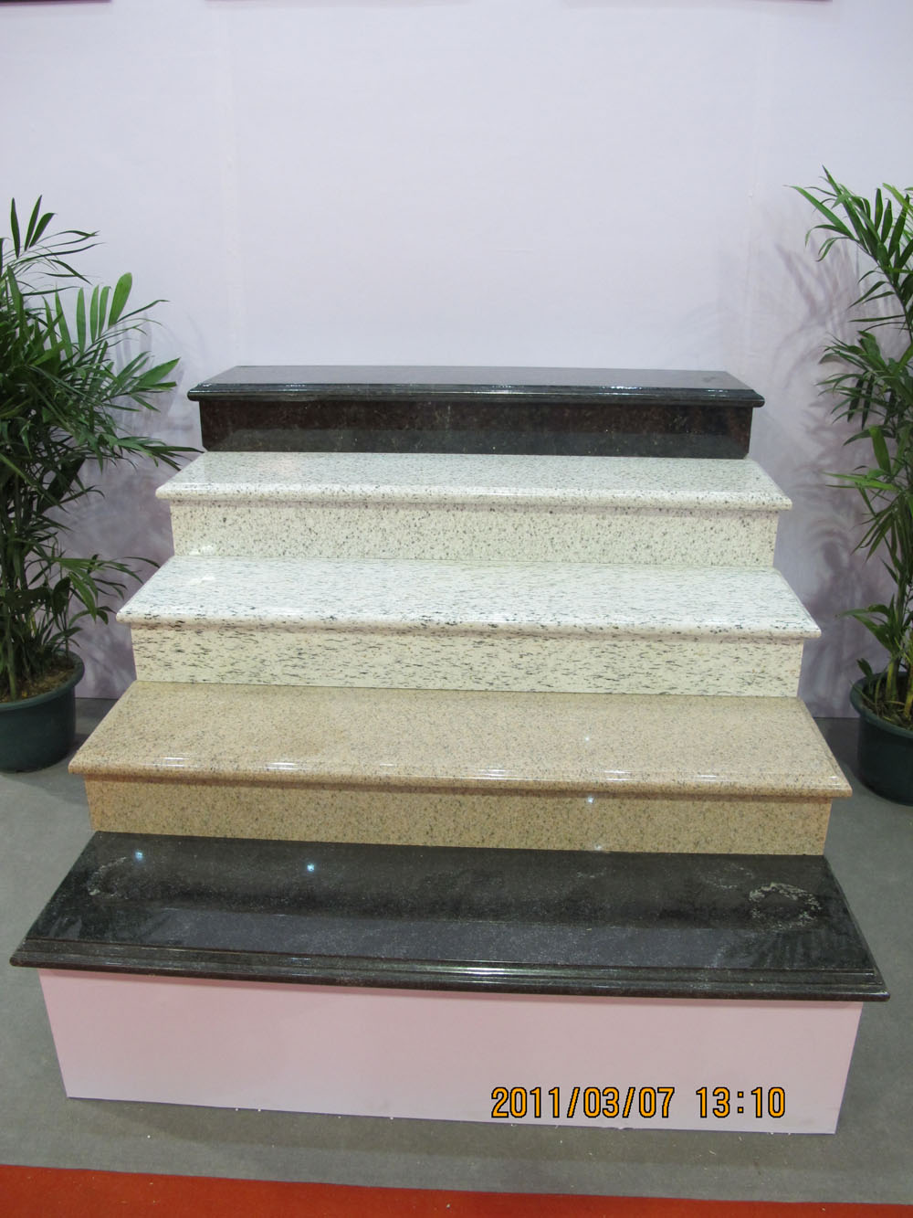 Polished Granite Stairs Multi Color Granite Stairs