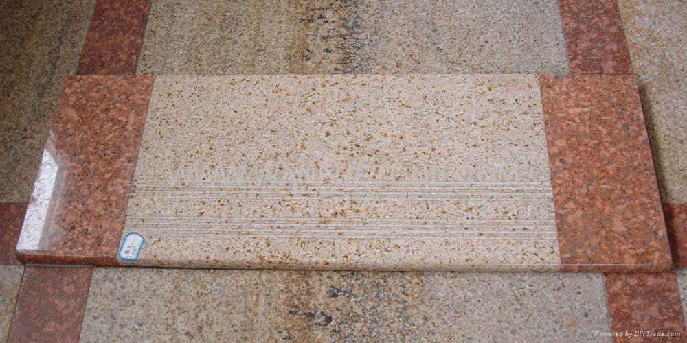 Polished Granite Steps