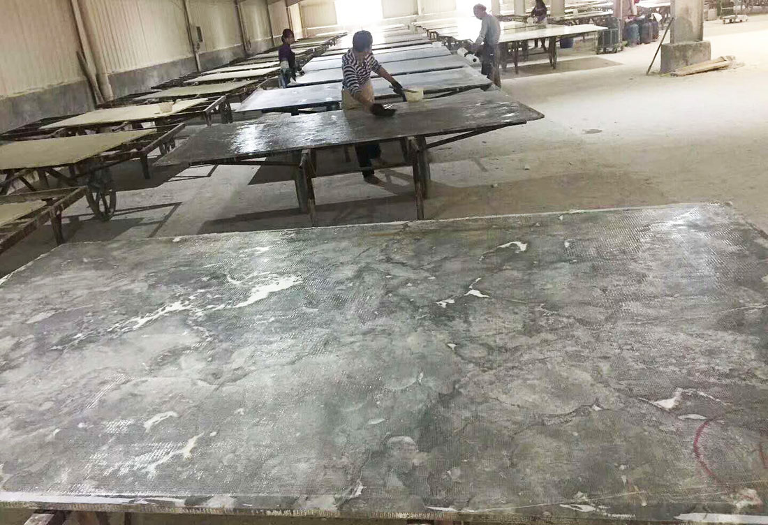 Polished Gray Marble Slabs Romantic Gray Slabs