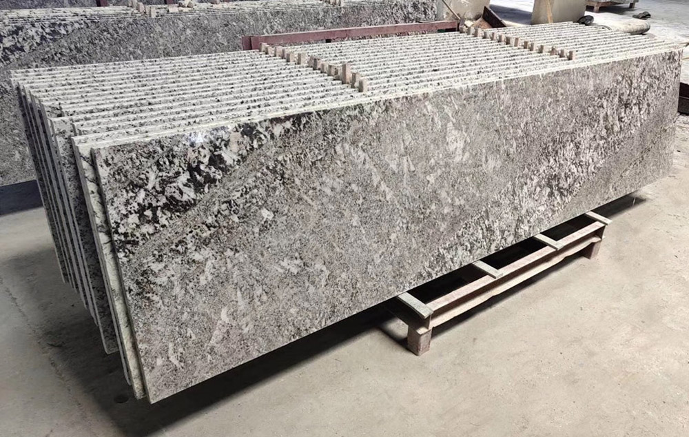 Polished Grey Granite Prefabricated Countertops for Kitchen