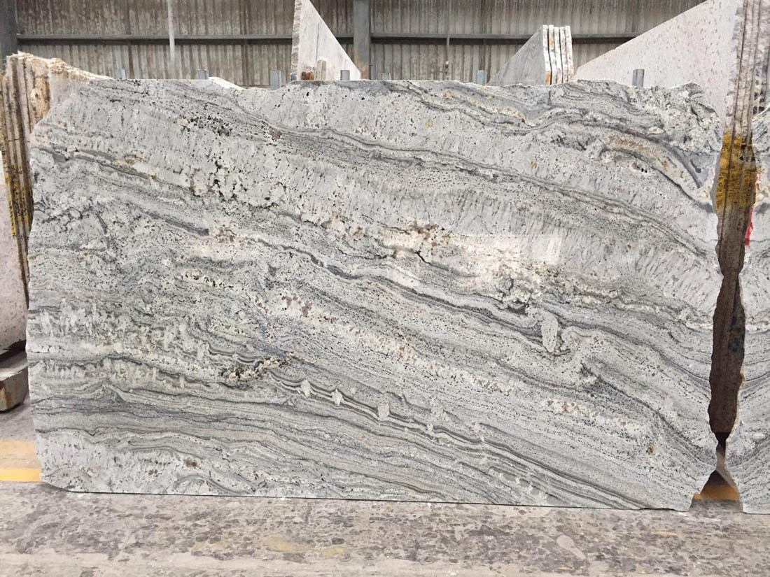 Polished Grey Granite Slabs Silver Canyon Slabs