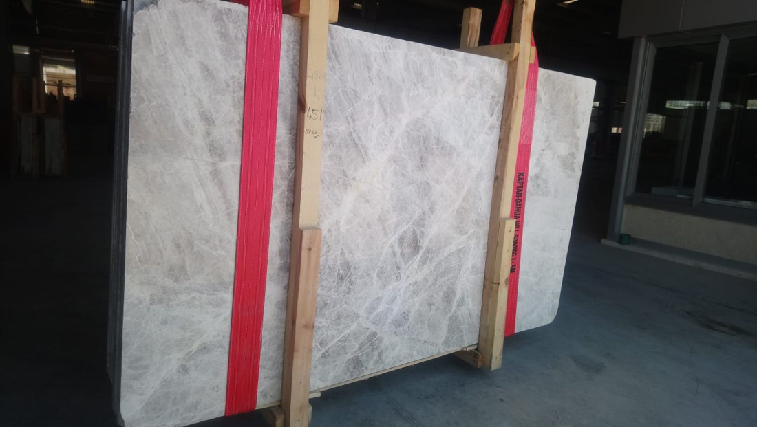 Polished Grey Marble Slabs Silver Shadow Slabs