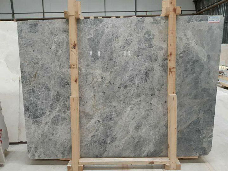 Polished Grey Marble Slabs Tundra Grey Slabs