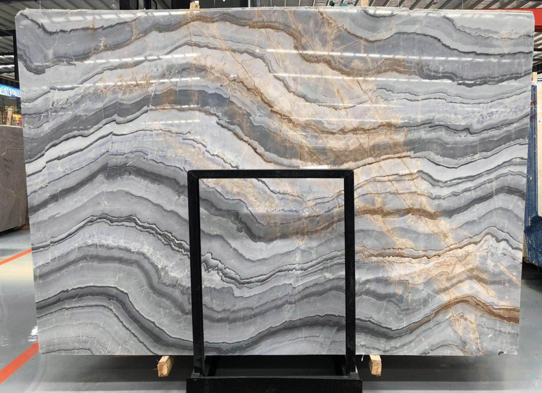 Polished Impression Lafite Marble Stone Slabs