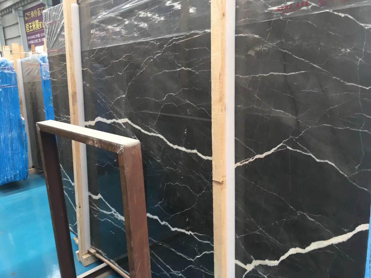 Polished Lauren Platinum Marble Slabs Brown Marble Slabs