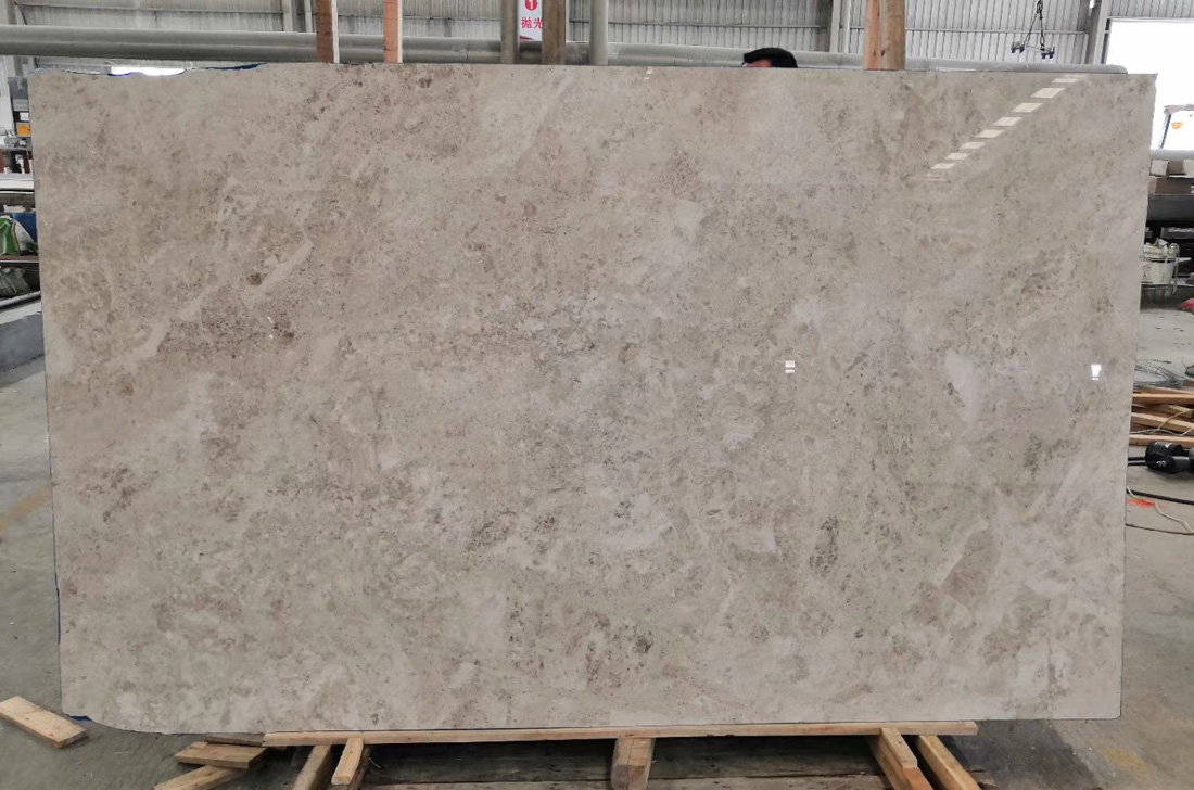 Polished Nature Classico Antique Beige Giallo Antico Marble Slab