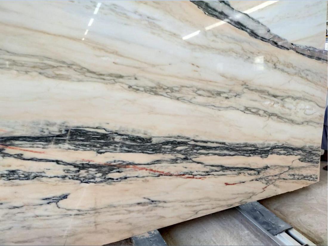 Polished Oman Marble Slabs Beige Marble Stone Slabs