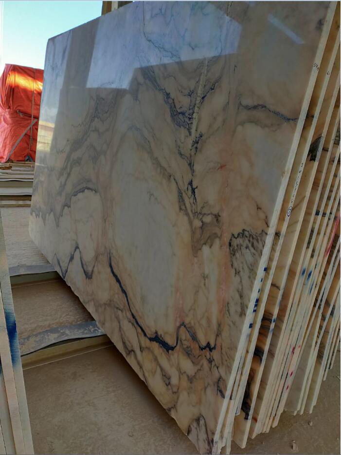 Polished Oman Marble Stone Slabs Premium Marble Slabs for Export