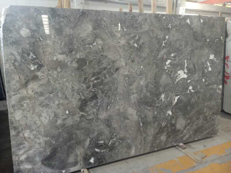 Polished Phantom Grey Marble Slabs Chinese Grey Marble