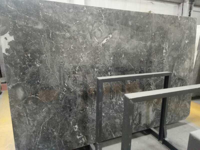 Polished Phantom Grey Marble Slabs
