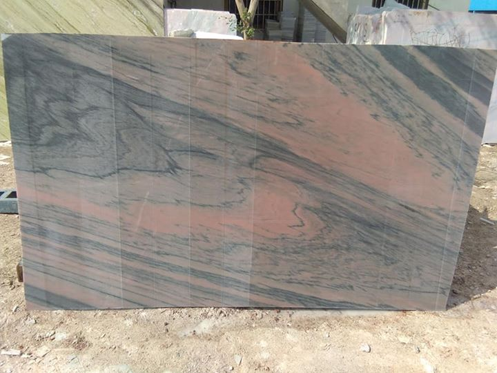 Polished Pink Marble Slabs from India