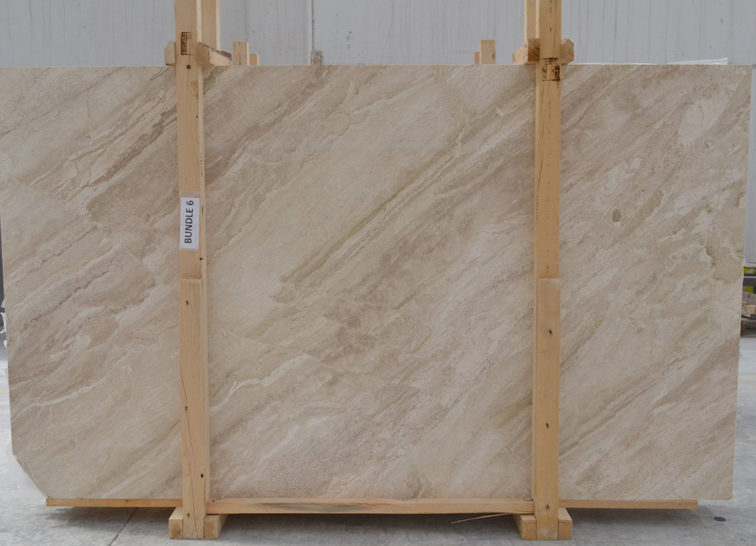 Polished Queen Beige Marble Slabs Turkish Beige Stone Slabs