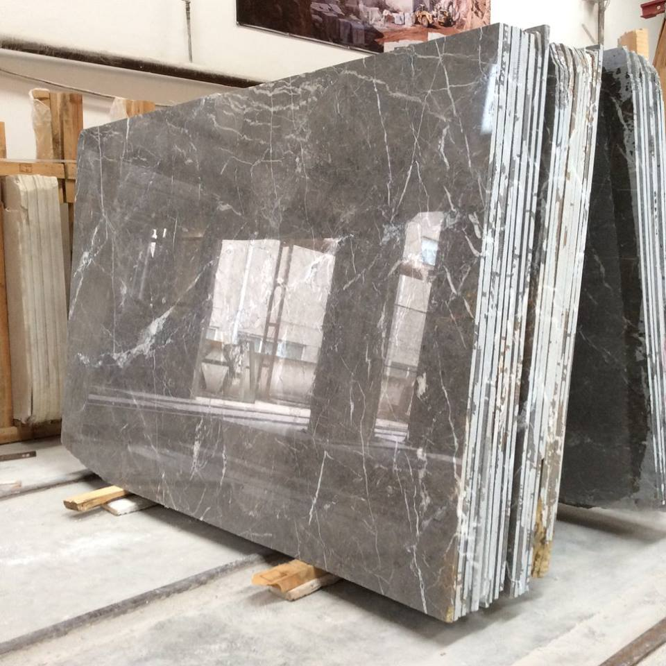 Polished Queen Grey Marble Slabs