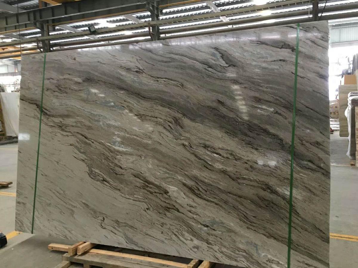 Polished Rome Impression Marble Slabs