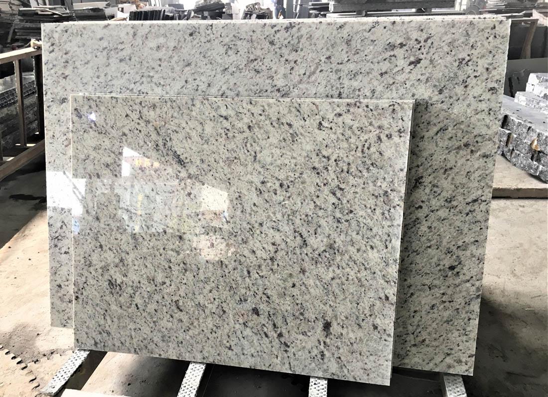 Polished Santa Cecilia White Granite Tiles for Flooring