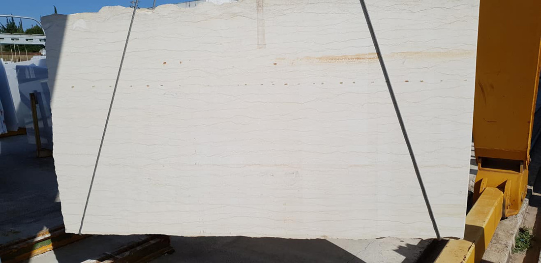 Polished Silvia Beige Marble Slabs