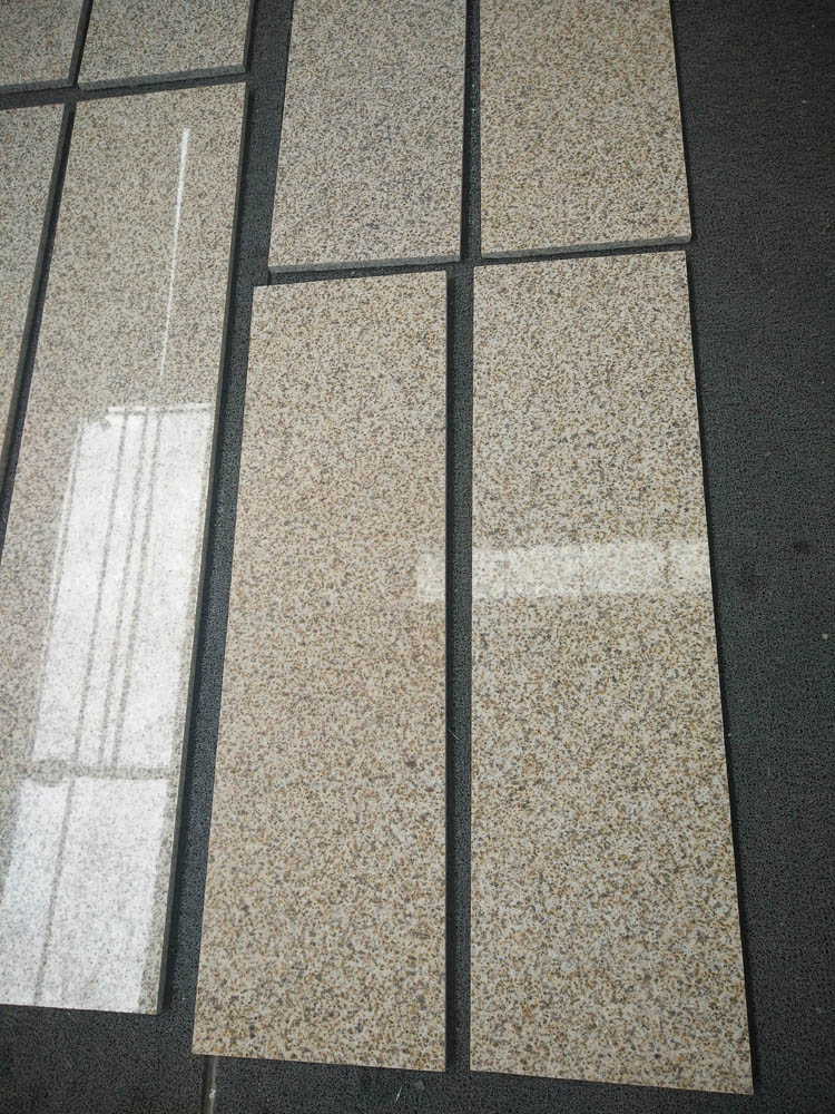 Polished Suizhou Yellow Granite Stairs and Steps