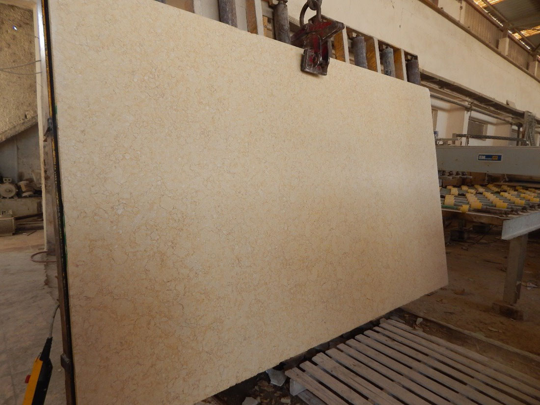 Polished Sunny Marble Slabs with High Quality
