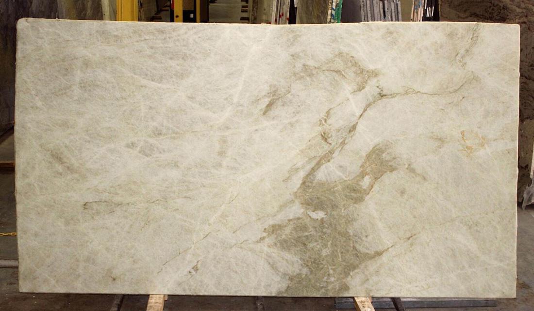 Polished Taj Mahal Quartzite Stone Slabs for Kitchen Countertops