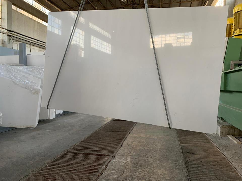 Polished Thassos Slabs White Greek Marble Slabs